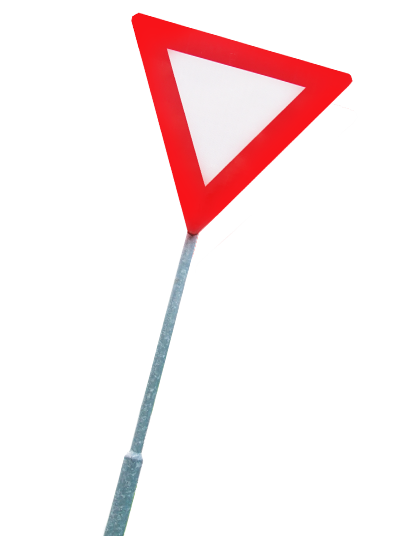 Verkeersbord rechts - KeepDriving