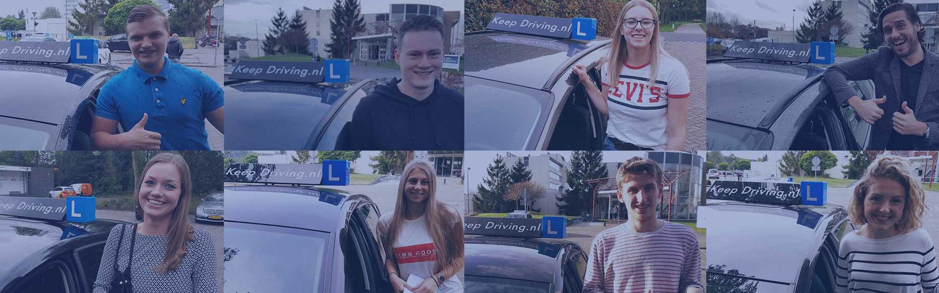Leerlingen, Autorijschool Keep Driving Rijen